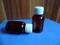 Amber Pet Bottles for Pharmacy