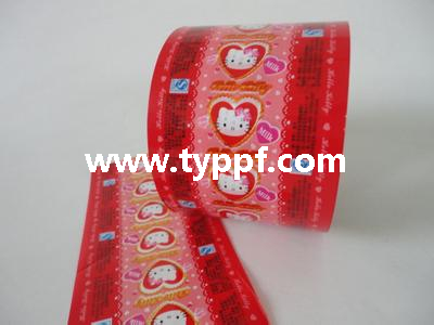 Metallized Red PVC film