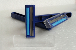 Cheap Blue Color Disposable Razor